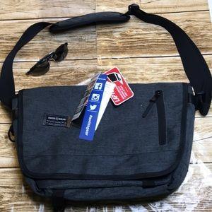 New! Swiss Gear Gray laptop bag adjustable strap